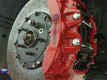 CC brakes detail